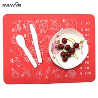 Wholesale Multifunctional Silicon - Wholesale- Multifunctional Rectangle Silicon Placemats Dinning Table Pads Heat Insulation Table Mats Rich Colors Ultrathin Coaster Cushion