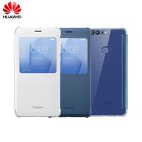 ingrosso custodia in pelle originale-Custodia protettiva originale Huawei Honor 8 per Funda con finestra. Cover intelligente per Huawei Honor 8 - Custodia in pelle con copertina a scatto