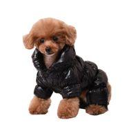 roupa de natal pequeno cão venda por atacado-Cão de estimação Casaco Roupas de Inverno para Pequenos Cães Chihuahua Bulldog Francês Chien Cães Animais de Estimação Roupas de Halloween Traje de Natal