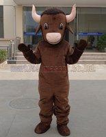 ingrosso vendite di giocattoli adulti-il nuovo formato adulto della mascotte del costume della mascotte del vitello, il partito di lusso del carnevale del giocattolo della peluche della mascotte del toro celebra le vendite della fabbrica della mascotte.
