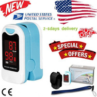 Wholesale oximeter monitor blood resale online - CONTEC Newest CMS50M LED Fingertip Pulse Oximeter Blood Oxygen Monitor SPO2 PR Monitor Care Health Pouch Lanyard