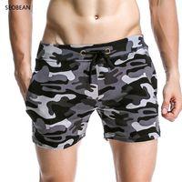 Wholesale shorts sunga for sale - Man Men Swimwear Swimsuit Men S Swimming Trunks Camouflage Beach Briefs Shorts Masculina Sunga Sports Men Swimsuit