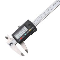 Wholesale digital micrometers for sale - Group buy Freeshipping Digital Caliper mm mm Stainless Steel Pocket Vernier Calipers Gauge Micrometer Measuring Tools