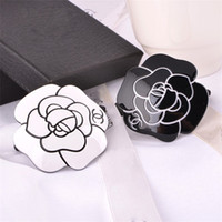 Wholesale women costume classic for sale - C Logo Luxury Hair Accessories Woman Girls Hairpin Classic Camellia Hairtie Rose Hair Rope Circle Head Ornaments Party Gift Favor kf bb