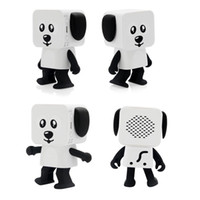 Wholesale kid mp3 speakers - Mini Super Cut Smart Dancing Robot Dog Bluetooth speaker Multi portable Bluetooth Speakers New years Christmas Gift For Child Kids