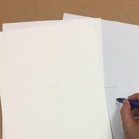 papel impermeable a4 al por mayor-Papel impermeable de alta calidad con fibra roja y azul tamaño A4 210 * 297mm 85gsm 0.13mm por hoja de espesor 160pcs