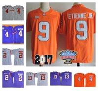 Wholesale Kelly Manning - Clemson Tigers #2 Kelly Bryant 9 Travis Etienne Jr. 13 Hunter Renfrow NCAA College Football Jerseys 2017 Championship 2018 Sugar Bowl Jersey