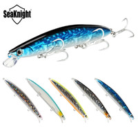 Wholesale minnow lure vmc online - Brand Long Casting Minnow Laser Fish crankbaits mm g Wobblers Swimbaits Artificial bass lure VMC Hook