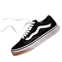 Wholesale orange canvas art - Vans Old Skool STYLE 36 MARSHMALLOW Off The Wall Canvas Athentic Mens Designer Sports Running Shoes for Men Sneakers Women Casual Trainers
