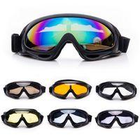 Wholesale polarized ski sunglasses - Winter Snow Sports Skiing Snowboard Snowmobile Goggles Men Women Windproof Dustproof Glasses Ski Skate Sunglasses Eyewear UV400
