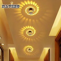 Wholesale small led ceiling light fixtures - Creative Lamp Small LED Ceiling Light for Art Gallery Decoration Front Balcony lamp Porch light corridors Fixture