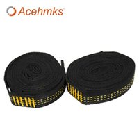 Wholesale Door Hold - Acehmks 2 PCS Essential Can Hold 2000kg Out Door Camping Hiking Hammock Hanging Belt Hammock Strap Rope Accessories