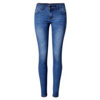 ingrosso lycra femminile-Pantaloni skinny denim donna Jeans casual stretch Pantaloni slim pencil Pantaloni plissettati sbiancati