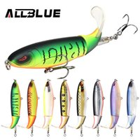 Wholesale saltwater top water fishing lures resale online - Whopper Plopper mm g Top Water Popper Floating Fishing Lure Artificial Hard Bait Soft Rotating Tail Fishing Tackle
