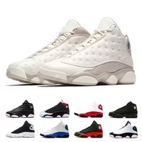 Wholesale ivory baskets resale online - mens basketball shoes s Phantom Hyper Royal Italy Blue Bordeaux Flints Chicago Bred DMP Wheat Olive Ivory Black Cat Size