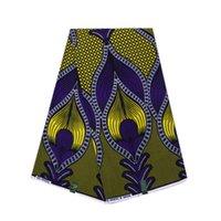 ткань 17 оптовых-Ткань воска ткани Анкары воска хлопка 6 ярдов модная Африканская печатает ткань воска с самой лучшей ценой ВБ-17