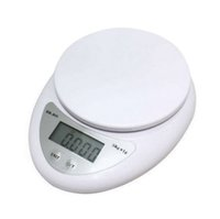 Wholesale food diet scales - Hot Sale 5000g 1g 5kg LED Electronic Scales Food Diet Postal Kitchen Digital Scale Measuring Weighing Scales Weigh Balance Scale