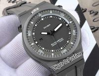 en iyi tasarlanmış saatler toptan satış-En iyi Sürüm P'6780 P6780 PD 911 Sınırlı Sayıda Tasarım spor Araba Yarışı Dalış Saatler Titanyum çelik Gri Otomatik Mens Watch Kauçuk pd06