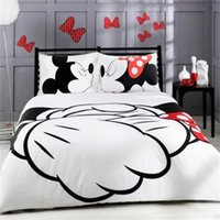 Wholesale queen size beddings for sale - Cartoon Bedding Set Kids Duvet Cover With Pillowcases Twin Full Queen King Size Quilt Cover Set Beddings
