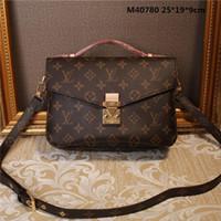 branded handbag großhandel-Brand New Umhängetaschen Leder Luxus Handtaschen Brieftaschen Hohe Qualität Für Frauen Tasche Designer Totes Messenger Bags Cross Body 9008