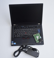 Wholesale automotive analyzer for laptop online - 2in1 HDD tb for mb star c4 sd connect and for bmw icom with for T410 I5 laptop ready to use