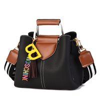yeni moda kore çantası toptan satış-Geniş omuz askısı Messenger çanta büyük çanta kadın 2018 yeni Kore vahşi omuz moda çanta gelgit