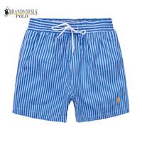 Wholesale swimwear men online - M517 Men Shorts twill printed leisure sports men hight quality Beach pants Swimwear Bermuda Male Letter Surf Life Men Swim