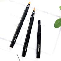 Wholesale korea lipstick for sale - Group buy Korea Brand Top quality innisfree Retracatable Flexible Lipstick Brush Lip liner makeup eyebrow contour brush