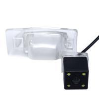 mitsubishi ters kamerası toptan satış-Mitsubishi Galant için LED ışık ile CHENYI Oto Dikiz Araba Kamera (2008-2011) Geri Park Kamera