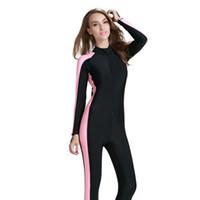 neoprenanzug bademode großhandel-Frauen Wetsuit Lycra Tauchanzug Ganzkörper Bademode für Divie Surfanzug Neu kommen