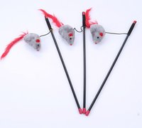 рыбы игрушки бесплатно оптовых-Бесплатная доставка кошка играет игрушки кошка рыбалка полюс мышь пищалка звук mices
