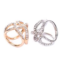Wholesale scarf ring buckle - New Simple Gold White Color Tricyclic Scarf Ring Jewelry Corsage For Women Shawl Buckle