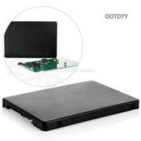 ssd kartları toptan satış-OOTDTY 100% Marka Yeni HDD Verimli Ve Hızlı Mini Pcie MSATA SSD 2.5