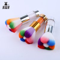 Wholesale cute highlighters - Lovely Face Makeup Brush Cat Claw Shapes Blush Power Highlighter Blending Cute Cosmetic Brush Beauty Make Up Tools