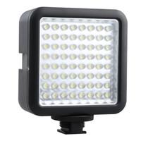 ingrosso yongnuo-Fotocamera Godox LED 64 luci per video Lampada per videocamera digitale DV