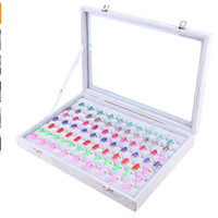 Wholesale books nails resale online - Professional Nails Gel Polish Display Card Book Color Board Chart Nail Art Salon Manicure Nail Tools With Free Nail Tips
