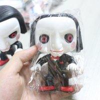 siehe spielzeug großhandel-Anime Ursprüngliche Echte Unvollkommene Funko Pop! Horrorfilm Sah-Billy Lose Spielzeugfigur Dekorative Modell Spielzeug Günstigen Preis Keine Box