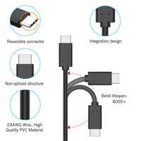 tableta de cromo al por mayor-Cable de datos de cable USB tipo C 3.3 pies / 1m Negro blanco para tableta de teléfono celular Google Chrome Pixel