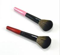 escovas de maquiagem de baixo preço venda por atacado-2018 menor preço blush escova 10 cores diferentes maquiagem escova 100 pçs / lote DHL frete grátis