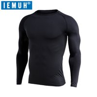 Wholesale thick warm long sleeve shirts - IEMUH Brand Winter Men Long Johns Fleece Thick thermal Underwear keep warm for Russia Canada and Europe Men