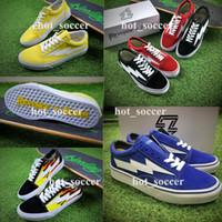 Wholesale Adult Skate Shoes - REVENGE x STORM Old Skool Kanye High-Top Adult Women Men's Canvas Shoes Skateboarding Shoes Casual Sneaker Skate Shoes