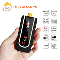 Wholesale android tv box 2g ram for sale - Group buy H96 Pro MINI PC TV Box Android OS G RAM G ROM Octa Core G WIFI H HDMI HDR VP9 Bluetooth