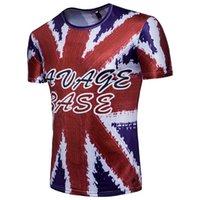 futbol takımları ingiltere toptan satış-İngiltere Takım Futbol Tişörtleri Erkek Yaz 3D Baskılı Tees Moda Kısa Kollu Dünya Kupası Tops