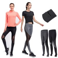 Wholesale Sexy Leggings Tights Feet - Long Yoga Pants Women Sexy Stirrup Leggings Workout Sports Fitness Gym Running Jogging Foot Tights Sportswear Cropped Pants