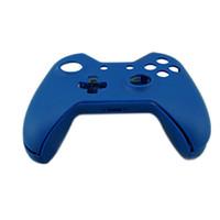 caja del controlador xbox one al por mayor-Nuevo kit de Bottons de Shell de la piel de la cubierta protectora azul a estrenar para el reemplazo inalámbrico del regulador de Xbox One de Microsoft