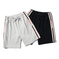Wholesale high waist pleated pants - Shorts Men Brand Short Pants 2018 Summer Designer High Street Beach Shorts Luxury Mens Underwear Fashion Sports Shorts