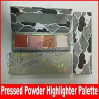 Wholesale high press - NEW weather collection highlighters highlight palette Weather High lighters 4 colors face pressed powder makeup
