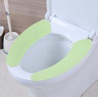 ingrosso coperte di sedili igienici caldi-Coprisedili in Cashmere Coprivaso Attacchi Schienali Cuscino Morbido Caldo Ripetutamente Lavabile Toilette Tappetino Alta qualità 1 45yy XB