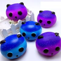 vendas de céu venda por atacado-Venda quente Kawaii Starry Sky Panda brinquedo Super lento rebote simulação brinquedos Kid descompressão brinquedos PU boneca T3I0243