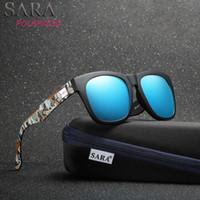 sunglasse azul al por mayor-Moda de verano espejo polarizado azul gafas de sol hombres gafas de sol retro fotocromáticas marca mujer UV400 alta calidad para hombre Sunglasse